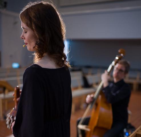 Aino Peltomaa / Ensemble Gamut by Jonte Knif